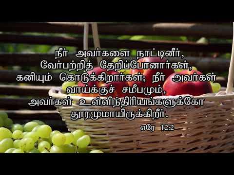 Irudayangalai  Aaraikeravar...psalm 16:7 ...Meditations on Psalms...Pr.G.James Edward...