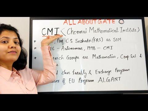 CMI-Chennai Mathematical Institute | Introduction & Academic Programs | Alternative To GATE Exam