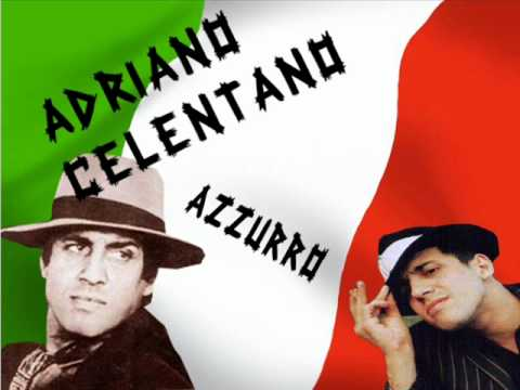 Adriano Celentano - Azzurro [Original HQ] with lyrics