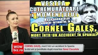 Cornel Gales, mort intr-un accident in Spania! VESTEA CUTREMURATOARE A MOMENTULUI!