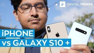 Galaxy S10 Plus vs iPhone Xs Max: Comparison