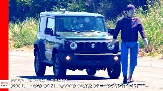2019 Suzuki Jimny Collision Avoidance System