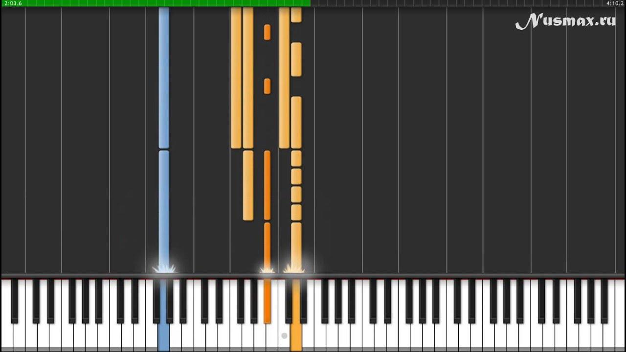 Blue & Elton John - Sorry Seems To Be Piano Tutorial (Synthesia + Sheets +  MIDI)