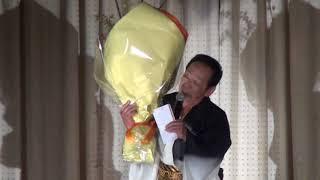 木曽の暴れん坊 「御嶽海」の応援歌を歌う、地元の歌手、「古畑けんじ」...