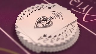 Vegas Dealer Teaches You the Coolest Way Ever to Fan a Deck of Playing Cards