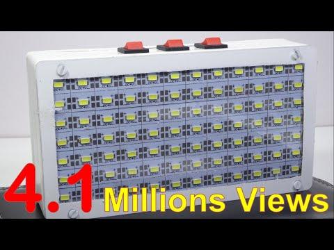 How to make High quality Emergency Light
