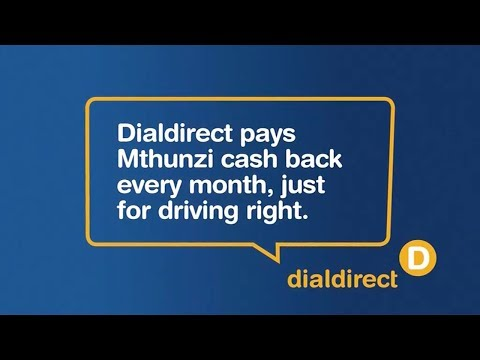 Dialdirect pays my monthly cash back straight into my bank account