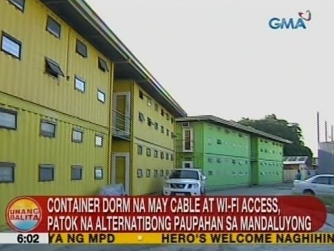 UB: Container dorm na may cable at Wi-Fi access, patok na alternatibong paupahan sa Mandaluyong