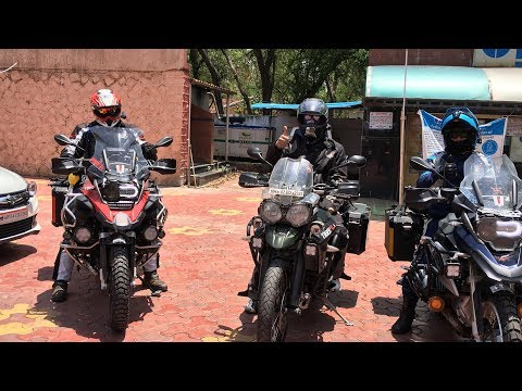 WORLD RIDE BEGINS INDIA LEG,PART1