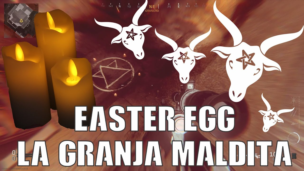 #NUEVO EASTER EGG - LA GRANJA MALDITA , CALL OF DUTTY MODERN WARFARE, TUTORIAL COMPLETO PASO A PASO
