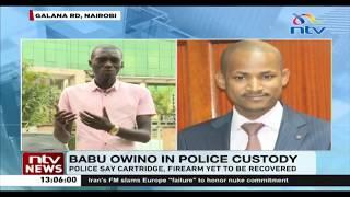 Babu Owino's lawyer says MP shot B-Club DJ in self-defense