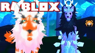 ROBLOX FELINES DESTINY Tiger Lion VS Was auch immer dieses Ding ist! SERVAL mit Arctic Fluff