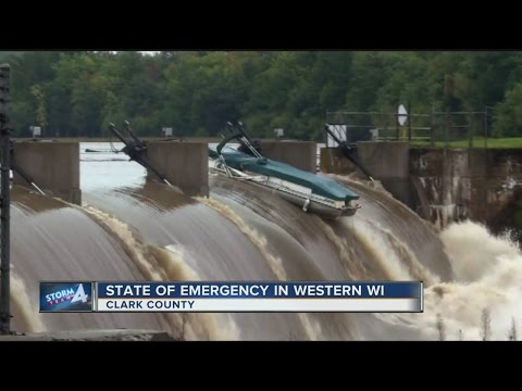 Walker declares State of Emergency over flooding in western Wisconsin