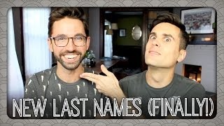 We (Finally) Changed Our Last Names! | Billy & Pat