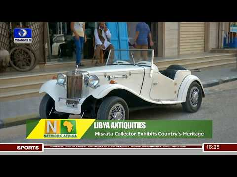 Libyan Collector Exhibits Over 20 Years Antiques |Network Africa|