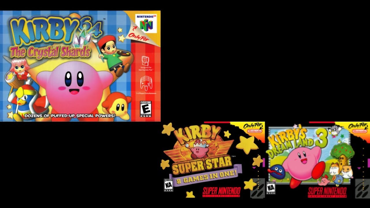 Aqua Star — Kirby 64: The Crystal Shards (KSS + KDL3