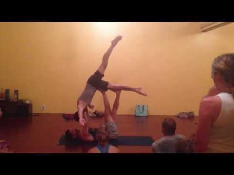 AcroYoga: with Tari Mannello and Daniel Scott