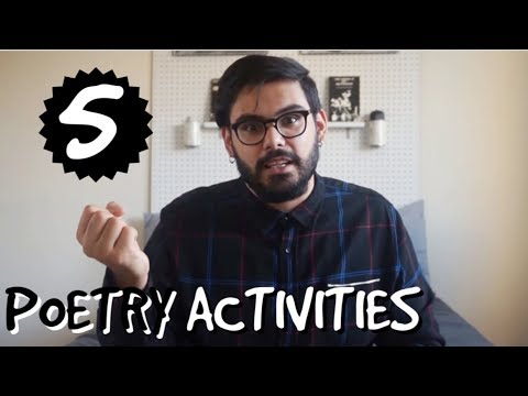 5 Activities To Kickstart Your Poetry