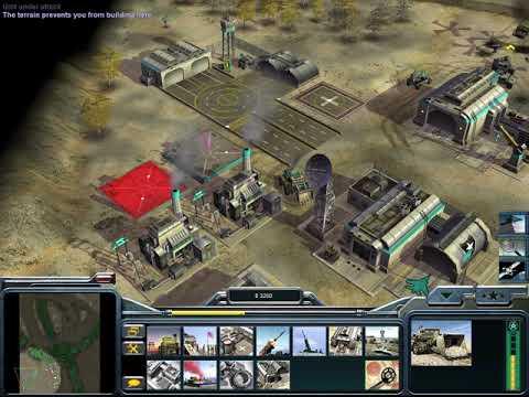 Command \u0026 Conquer Generals: Zero Hour - Gameplay (PC/UHD)