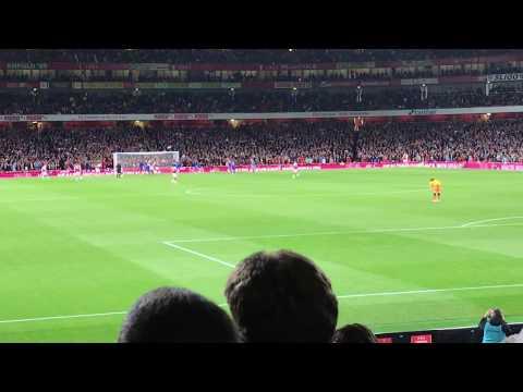 GIROUD GOAL | Arsenal 4-3 Leicester!!!