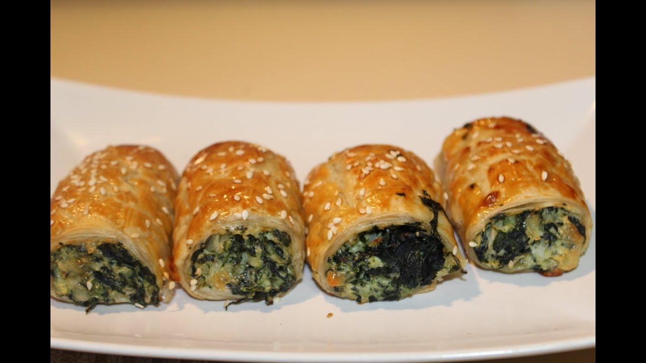 Spinach Ricotta Rolls