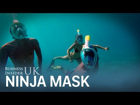 Full-face Snorkel Mask Lets You Breathe Through Your Mouth