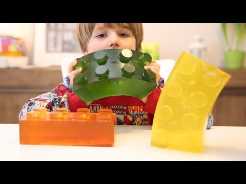 Giant Lego Gummy Brick - How To Make It - Good Food
