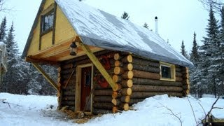 Cozy Log Cabin- How I built it for less than $500.