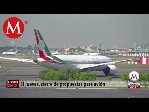 Alistan cierre de venta de avión presidencial, dice AMLO