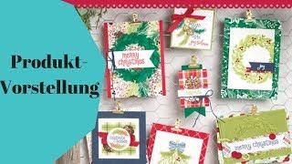 🎄Produktreihe Weihnachtsfreuden von Stampin' Up!; Produktvorstellung