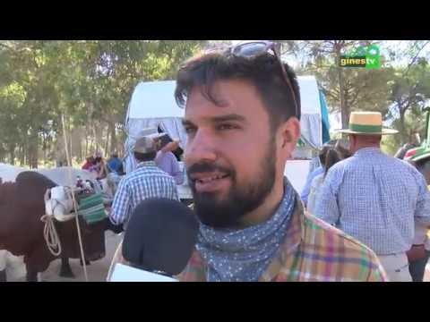 COMPLETO Raya Real y Palacio con la Hermandad de Gines 2019