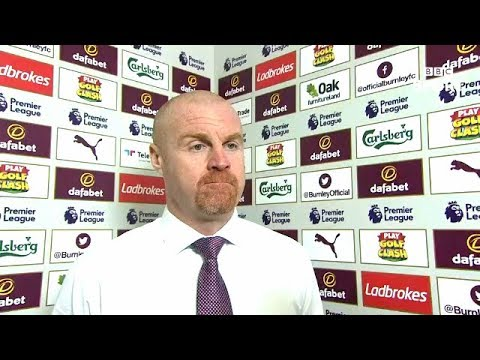Sean Dyche Post Match Reaction Interview | Burnley 2-1 Leicester City | Premier League Review