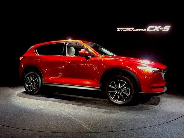 Mazda Cx5 World Premiere Tech Review W Mazda Engineer Dave Coleman 2016 Los Angeles Auto Show
