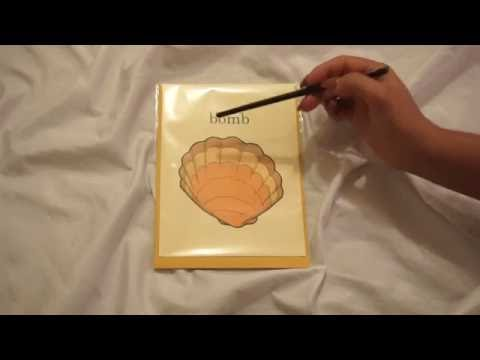 Slow Whispering, Tapping, Tracing & Page Turning   Lily Whispers ASMR