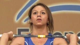 2012 European Weightlifting Championships, Women 58 kg \ Тяжелая Атлетика. Чемпионат Европы