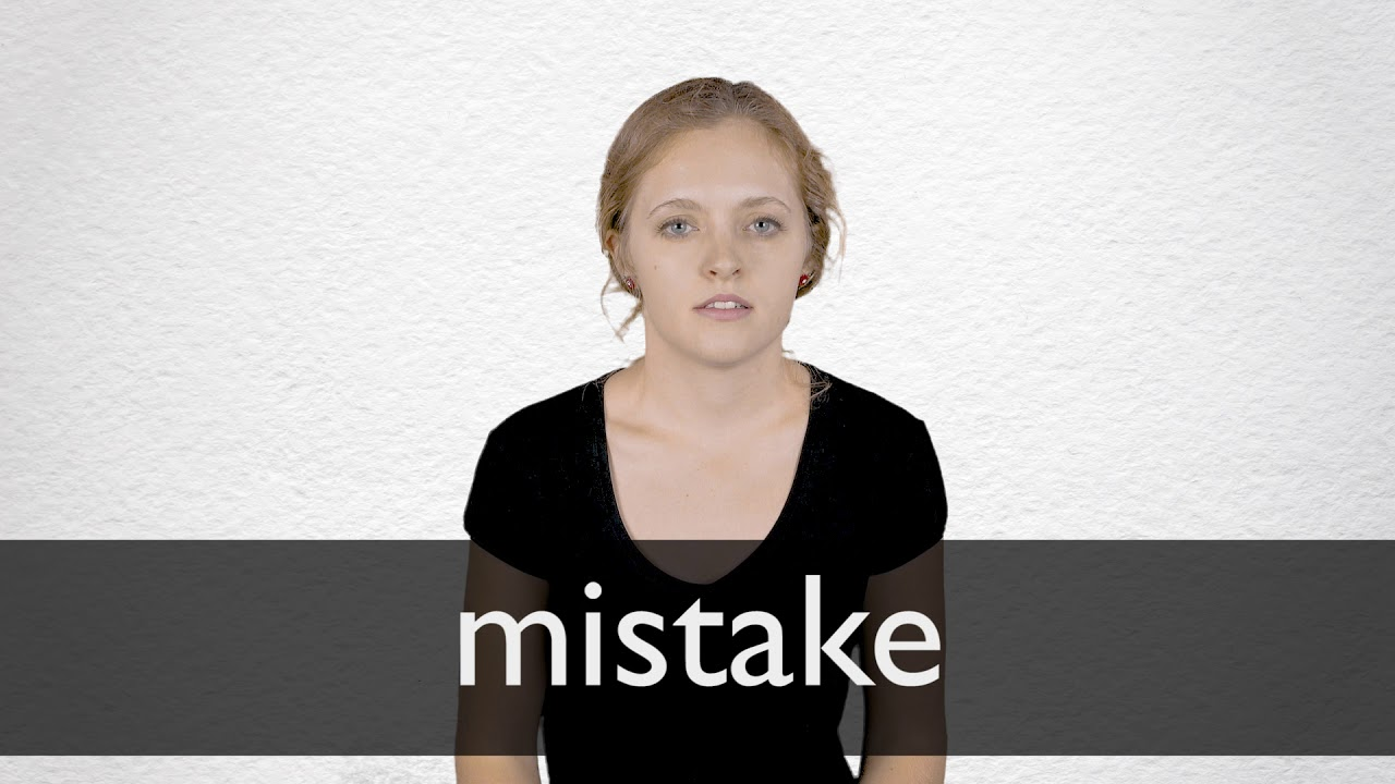 "French Translation of ""mistake"" 