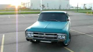 1968 GMC A little spin of the tires in Havoc,