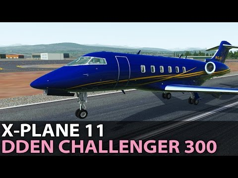The New Default FMC, DDen Challenger 300 in X-Plane 11, Pilo