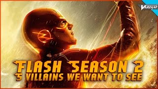 One Shot: 5 Villains We Want To See In Flash Season 2!