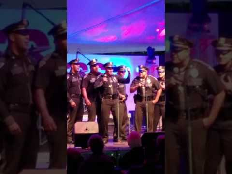 New Mexico State Police Sing Karaoke at State Fair 9 12 16