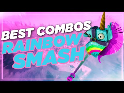 Best Chapter 2 Combos | Rainbow Smash | Fortnite Harvesting Tool Review