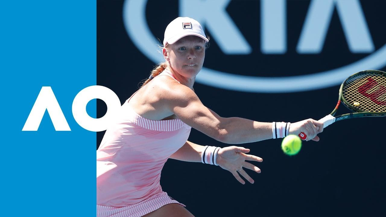 Alison Riske v Kiki Bertens match highlights (1R) | Australian Open 2019