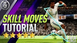 FIFA MOBILE | SKILL MOVES, PASSING, DRIBBLING & SHOTS TUTORIAL!!!