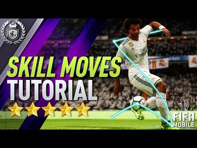 FIFA MOBILE   SKILL MOVES, PASSING, DRIBBLING & SHOTS TUTORIAL!!!