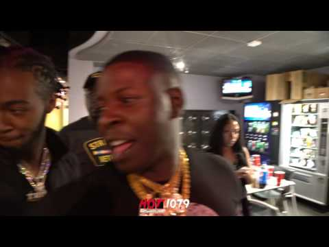 @Hot1079ATL  2 Chainz & Blac Youngsta Meet For The First Time