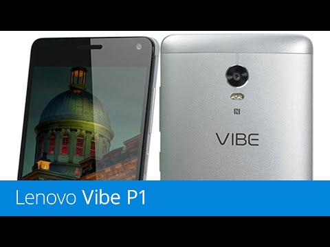 Lenovo Vibe P1 (recenze)