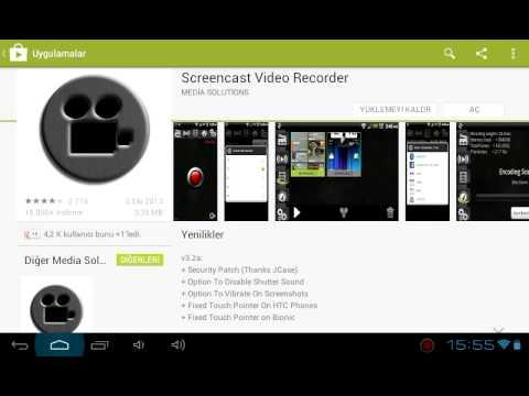 Android Tablet Veya Telefondan Video Nasıl Çekilir ?
