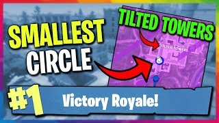 3 PEOPLE IN THE SMALLEST CIRCLE | TILTED TOWERS FINISH | Fortnite Battle Royale Victory Gameplay