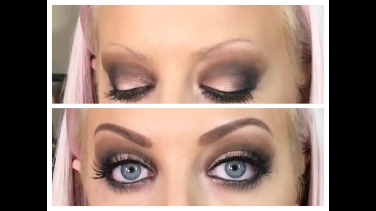 Talk Through Eyebrow Tutorial For Those W Little To No Brows