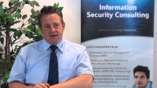 60 Sekunden mit Mathias Horn - Advanced Security Management als Unternehmensaufgabe